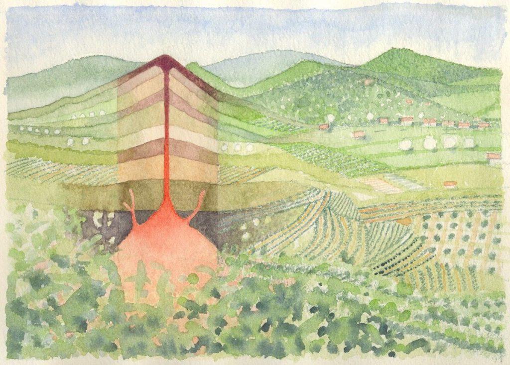 Strada del Vino Durello vulcano